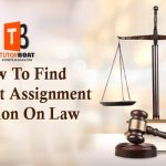 How To Find The Best Assignment Solution On Law