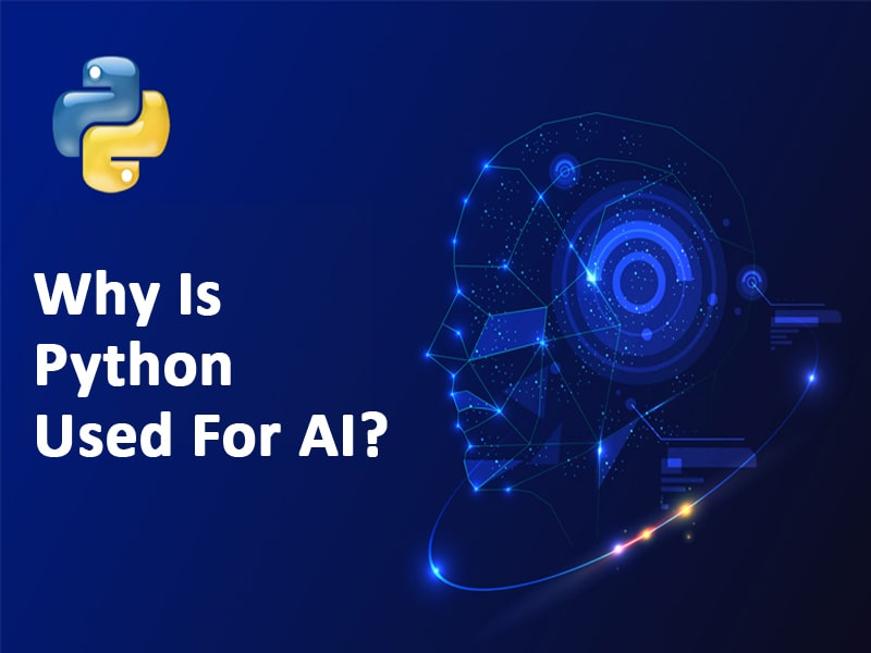 Why is Python used for AI?
