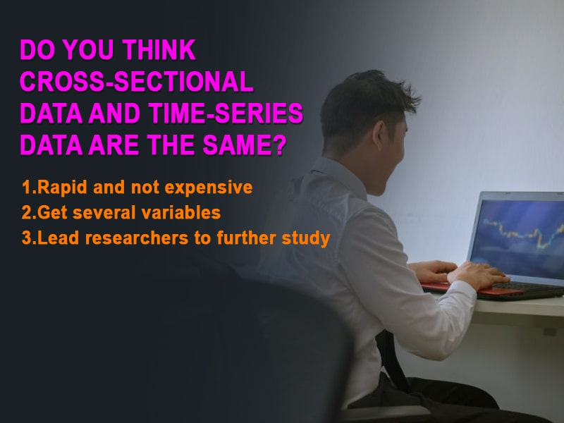 Do you think Cross-sectional data and time-series data are the same?
